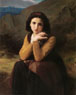 William Bouguereau (French, 1825-1905), Mignon Pensive