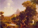 Thomas Cole (1801-1848), The Voyage of Life: Youth