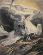 William Blake, Death on a Pale Horse