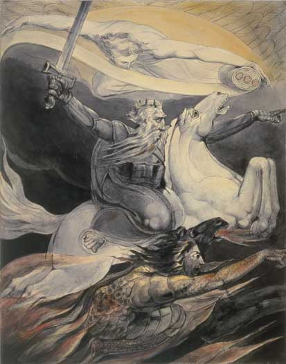 William Blake, UK, Death pale horse